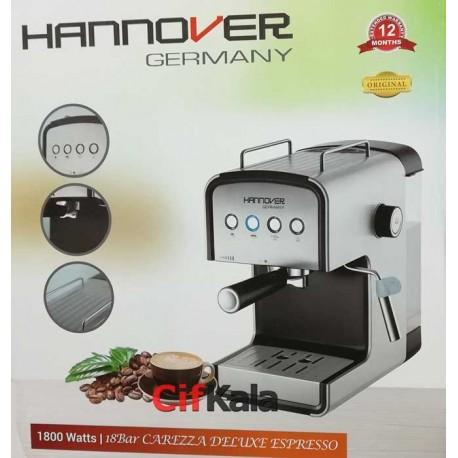 اسپرسوساز هانوور با فشار بخار 18 بار HANNOVER HEM003