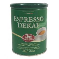 قهوه ساکوالا مدل اسپرسو دیکاف