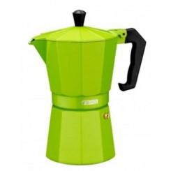 قهوه جوش موکا سه نفره روگازی رنگی