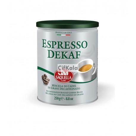 دانه قهوه اسپرسو دیکاف