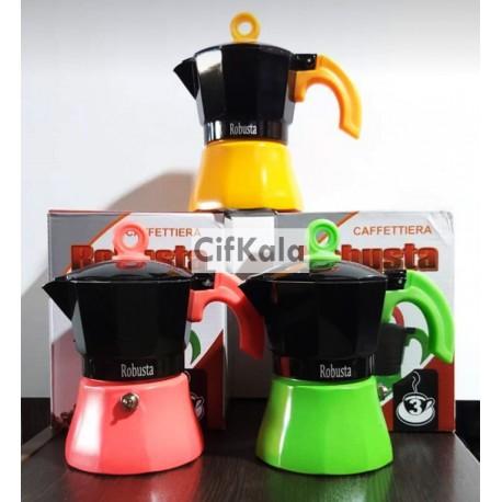 قهوه جوش روگازی روبوستا دو نفره