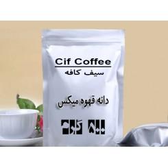 دانه قهوه 500 گرمی میکس روبوستا عربیکا بمب انرژی